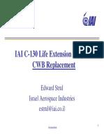 C-130 Life Extension Program - Wing Box - Israel Aerospace Industries - 2013