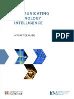 Communicating Technology Intelligence - IfM University of Cambridge