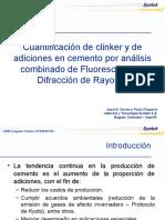 SYMTEK Cuantificacion de Clinker y Adiciones en Cemento Por Analisis Combinado