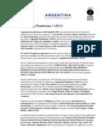 Argentina en ARCO 2017