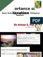 7. Taxation101basicrulesandprinciplesinphilippinetaxationbyjrlopezgonzalesformsu Iitpoliticalscienceseminar 110809221828 Phpapp02