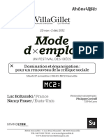Domination Et Emancipation Web