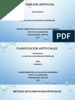artificiales planificacion