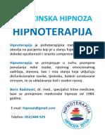 Medicinska Hipnoza i Hipnoterapija Istra Plakat 170220