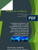 migración en México