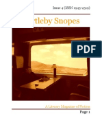 Bartleby Snopes Issue 4