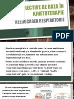 Obiective de Baza in Kinetoterapie