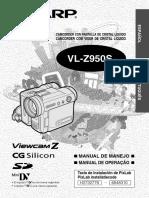 Sharp VLZ950S Es