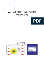 Acoustic Emission Testing and Thermographic Testing