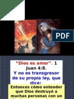 Un Dios de Amor ¿Mata y Destruye¿