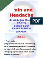 Pain and Headache - A Hamid