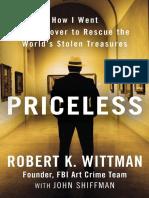 Priceless by Robert K. Wittman and John Shiffman - Excerpt