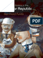 Press and Politics in the Weimar Republic