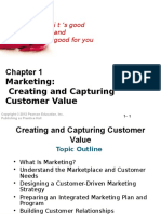 Ch 1 Creating and Capturing Customer Value