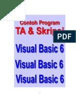 Download Program Contoh TA dan Skripsi Dengan Visual Basic 6 by Bunafit Nugroho SKom SN33974513 doc pdf