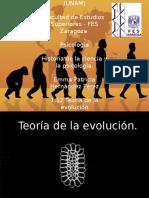 Teoría de la Evolución Darwin desde la psicología