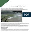 Die virtuelle Wasserverschwendung