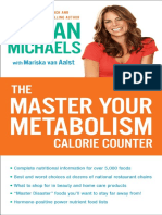 Master Your Metabolism Calorie Counter by Jillian Michaels - Excerpt