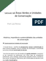 2ª Aula - Gestão de Áreas Verdes e Unidades de Conserva Ção - Alunos