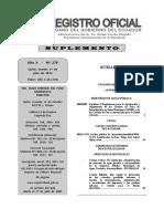 Registro Oficial Comites de Etica