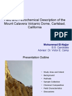 El-Najjar '16 - Field and Petrochemical Description of the Mount Calavera Volcanic Dome, Carlsbad, California