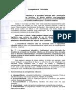 Competência Tributária(1) 2