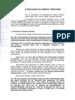 Garantias e Privilégios Do Crédito Tributário(1) 2