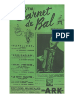 Sheets_Carnet de Bal - Recueil 4 Titres _ Edgard Deridoux
