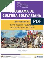 3. Batalla de La Victoria. Texto Narrativo MODIFICADO