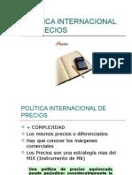 Política Internacional de Precios