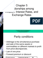Relationships among Inflation, Interest Rates, and Exchange Rates