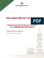 Decálogo Declaración de València