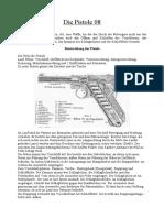 Die Pistole 08 Aus Dem Reibert (4 S., Text)