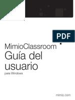 MimioClassroom UG Win Es