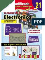 21-El Mundo de La Electronica TV Audio y Video