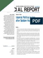 Islamist Politics in Iraq After Saddam Hussein