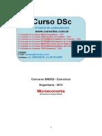 CursoDSc Apostila Exercícios Microeconomia