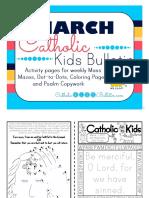 March 2017 Catholic Kids Bulletin