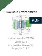 Borehole Lecturenotes