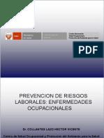 5. Prevencion de Riesgos Laborales Enfermedades Ocupacionales JULIO 2015 Dr Collantes