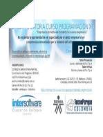Programacion XP - Con Inter Software - Gratis - beca 100%