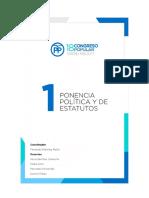 Estatutos XVIII Congreso Nacional Partido Popular