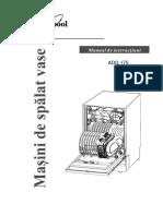 Manual Whirlpool ADG 175 RO