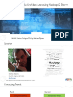 Areal-timeLambdaArchitectureusingHadoopStormNoSQL14-Nathan-B v v v v v VV v v v v IMPORTANT