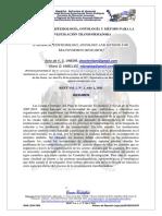 Paradigma, Epistemología, Ontología y Método Para La Investigación Transformadora
