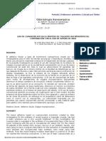Uso de Cianoacrilato en La Síntesis de Colgajos Mucoperiosticos
