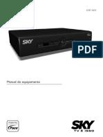 Manual Dos Equipamentos Sky Livre