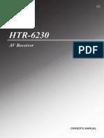 HTR 6230 Manual