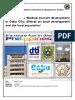 Thesis Medical Tourism Cebu Eindversie