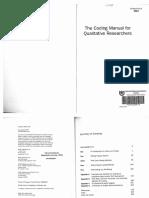 Saldana 2009 the Coding Manual for Qualitative Researchers